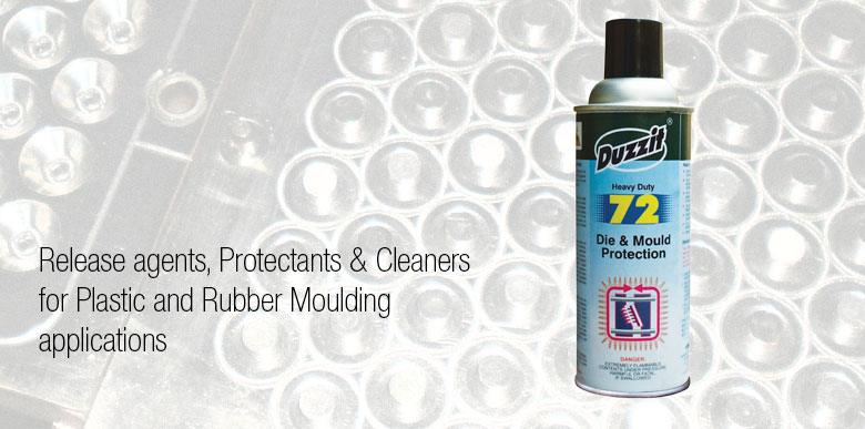 Duzzit Aerosols for Plastic and Rubber Moulding Application