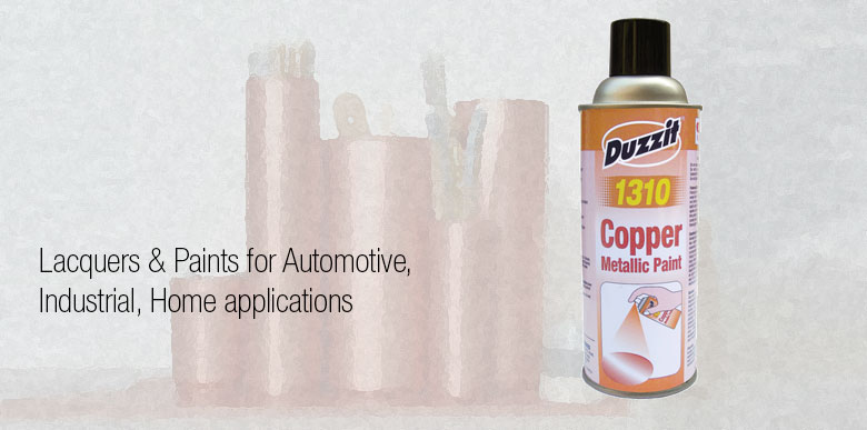 Duzzit Aerosols for Home Applications